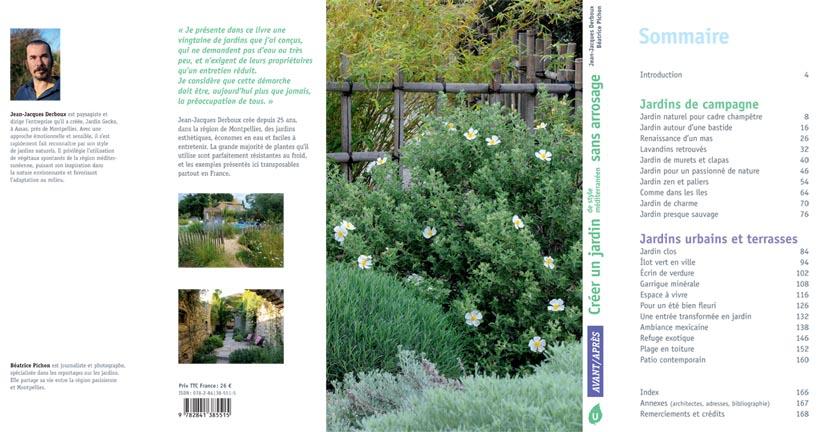 un livre d inspiration sur les jardins sans arrosages les. Black Bedroom Furniture Sets. Home Design Ideas